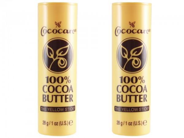 Cococare Kakaobutter Pflegestick (2 x 28g) (075707011000)