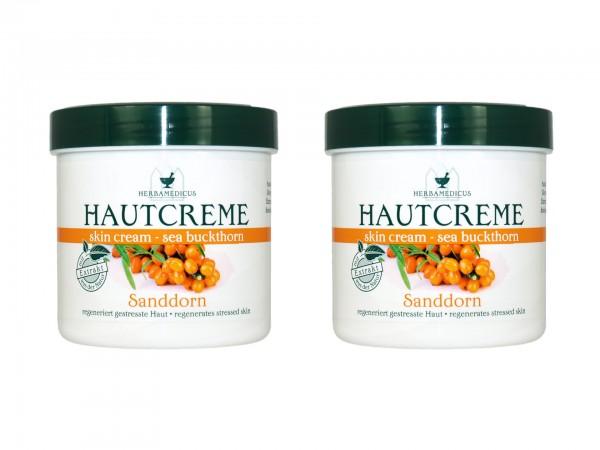 Herbamedicus Sanddorn Hautcreme 250ml (4009737306634)