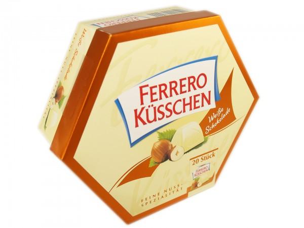 Ferrero Küsschen Weiße Schokolade Packung