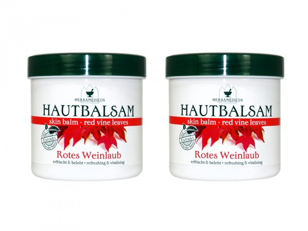 Herbamedicus Rotes Weinlaub Hautbalsam 250ml (4009737306542)