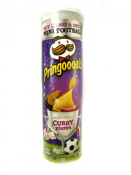 Pringles Curry Keeper Limited Edition Chips 190g
