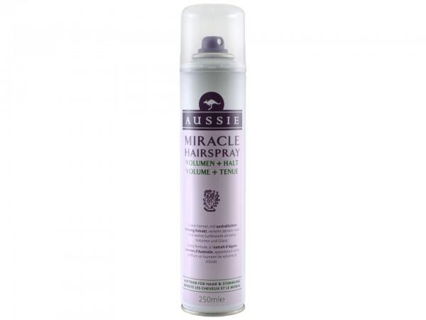 Aussie Miracle Hair Spray Volumen + Halt (250 ml) (5011321626560)