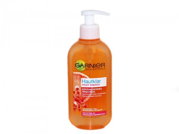 Garnier Hautklar Fruit Energy Erfrischendes Waschgel (3600541205802)