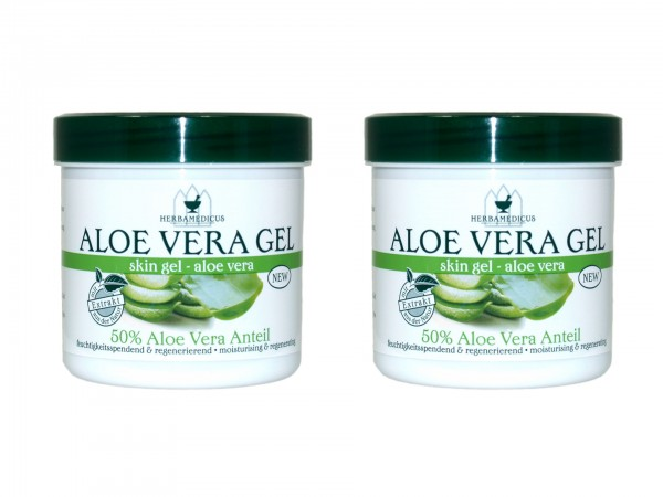Herbamedicus Aloe Vera Gel 250ml (4009737306429)