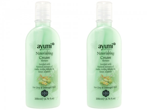 Ayumi Naturals Pflegendes Creme-Shampoo 200ml (5025042018405)
