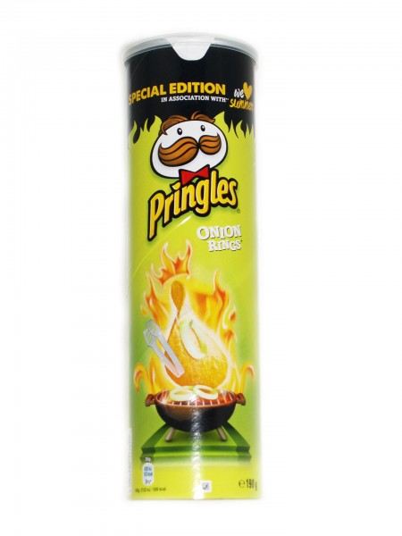 Pringles Onion Rings Specials Edition Chips 190g