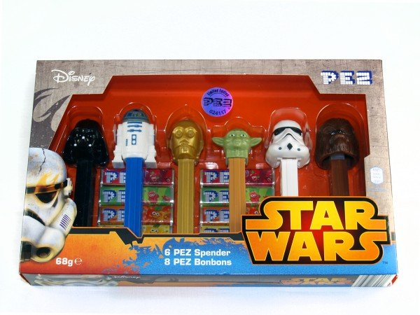 Star Wars PEZ 6 Spender Limited Edition Box