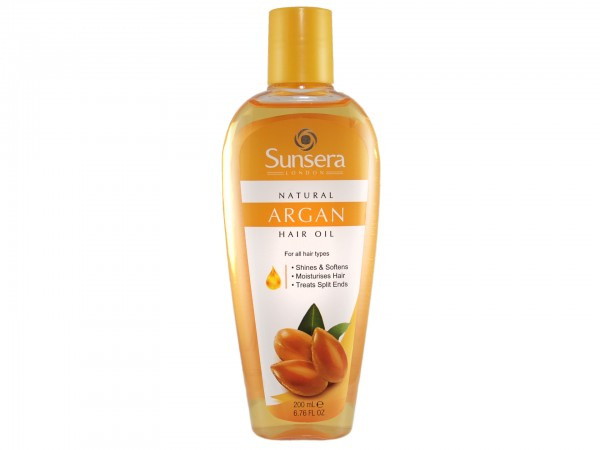 Sunsera Argan Haaröl 200ml (5055757810346)