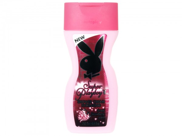Playboy Super Playboy - Sweet Strawberry Shower Cream (3607346620540)