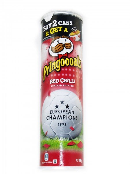 Pringles Red Chilli Limited Edition Chips 190g Verpackung