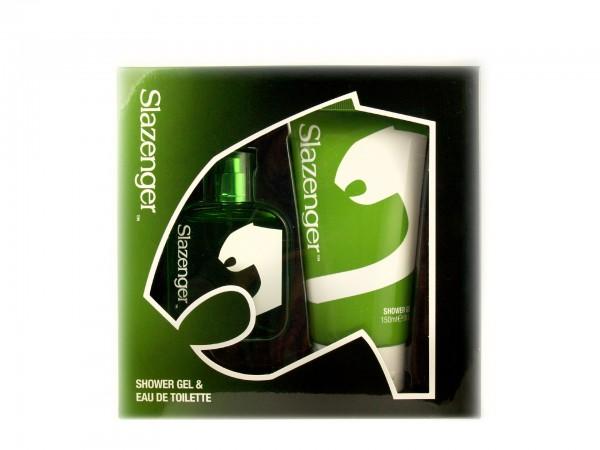 Slazenger Green Geschenkset (Duschgel & Eau De Toilette)