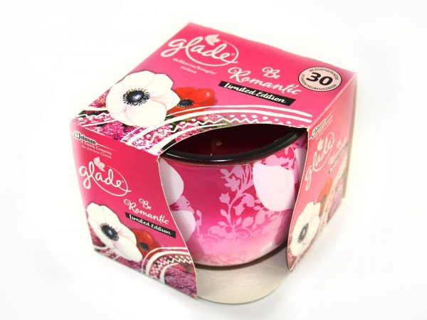 Glade Be Romantic Limited Edition Duftkerze