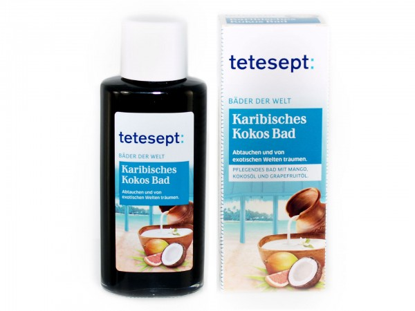 tetesept Karibisches Kokos Bad (4008491480956) 125ml