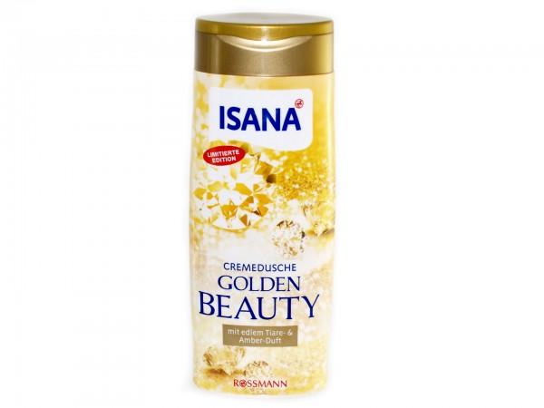 Isana Golden Beauty Cremedusche Limitierte Edition (4305615485485)
