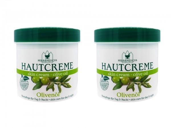 Herbamedicus Olivenöl Creme 2 x 250ml (4009737306627)
