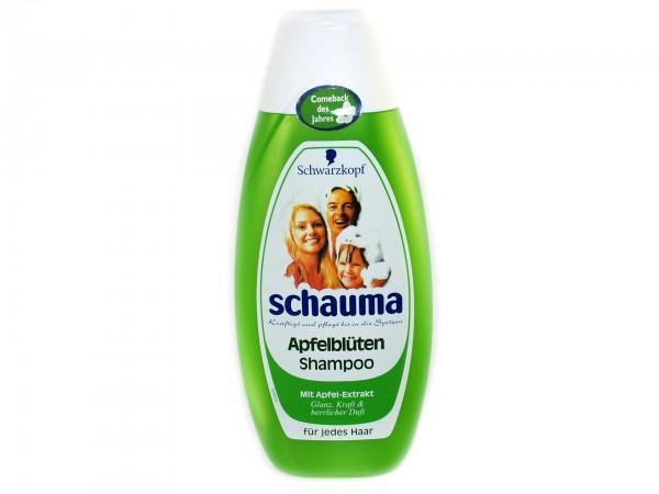 Schauma Apfelblüten Shampoo Limitierte Edition 400ml (4015000942751)