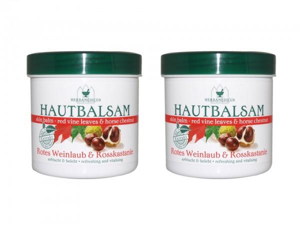 Herbamedicus Rotes Weinlaub & Rosskastanie Hautbalsam (4009737209188)