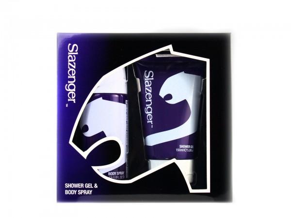 Slazenger Purple Geschenkset (Body Spray & Eau De Toilette)