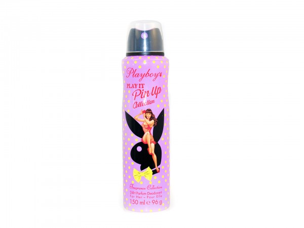 Playboy Play It Pin Up Collection - Parfum Deospray (150ml)